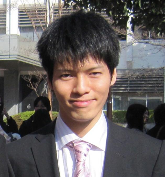 大学卒業時の写真