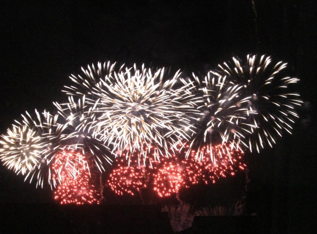 水戸黄門まつりの花火