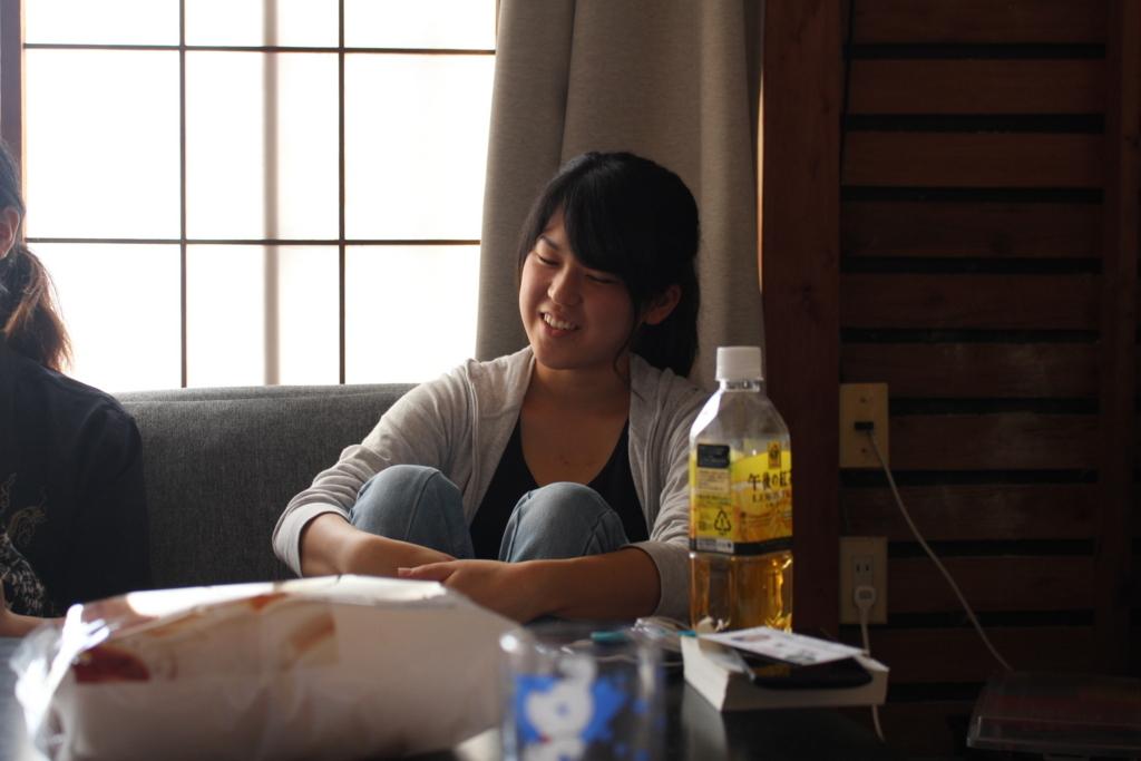 シェアハウス兼ゲストハウス「たむろ荘」代表の本田美咲さん