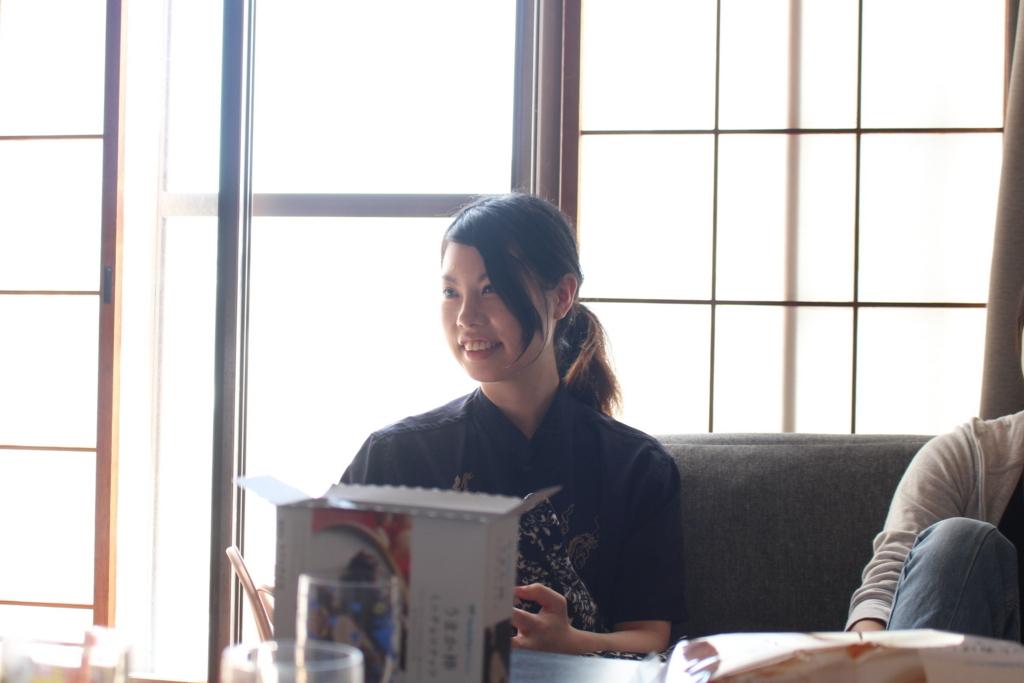 シェアハウス兼ゲストハウス「たむろ荘」強度代表の秋山恵璃さん