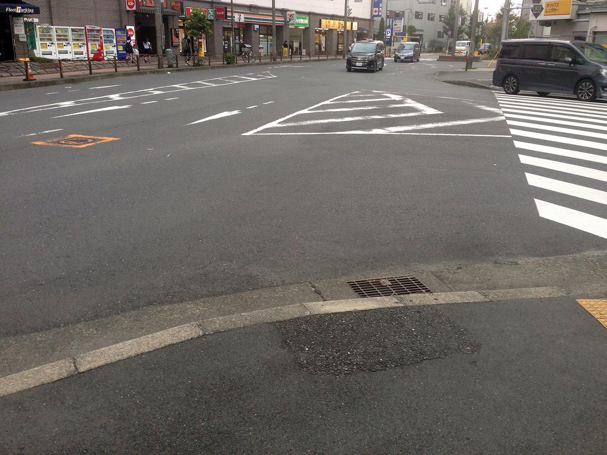 交差点での交通事故