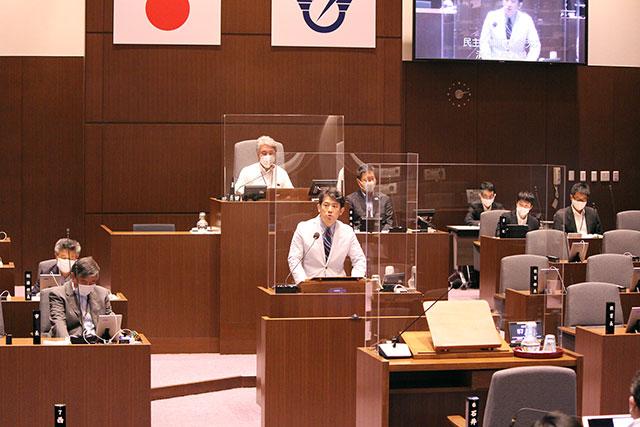 藤沢市議会一般質問