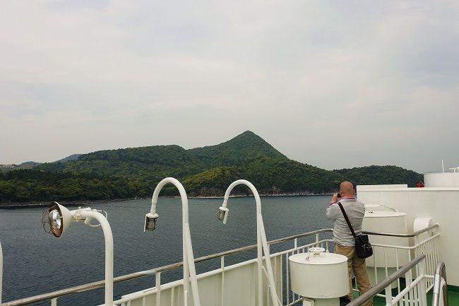 隠岐汽船「フェリーおき」から見える島後