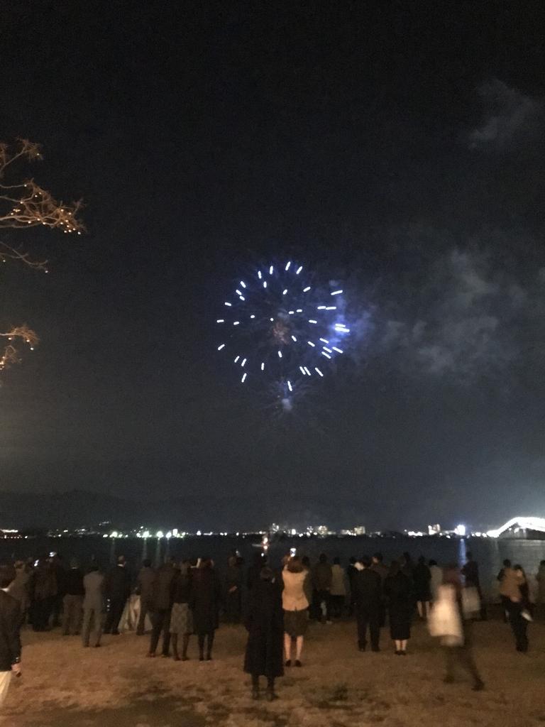 セトレマリーナの花火