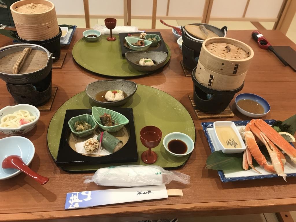 雄山荘のディナー