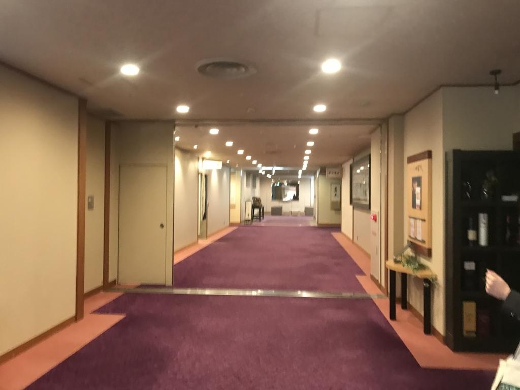 雄山荘の廊下