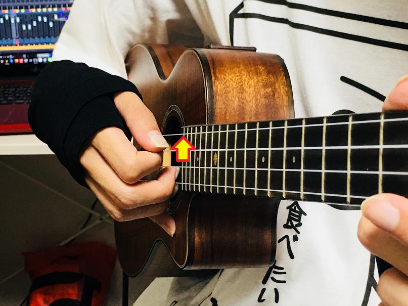 ウクレレ コード 右手 アルペジオ 奏法