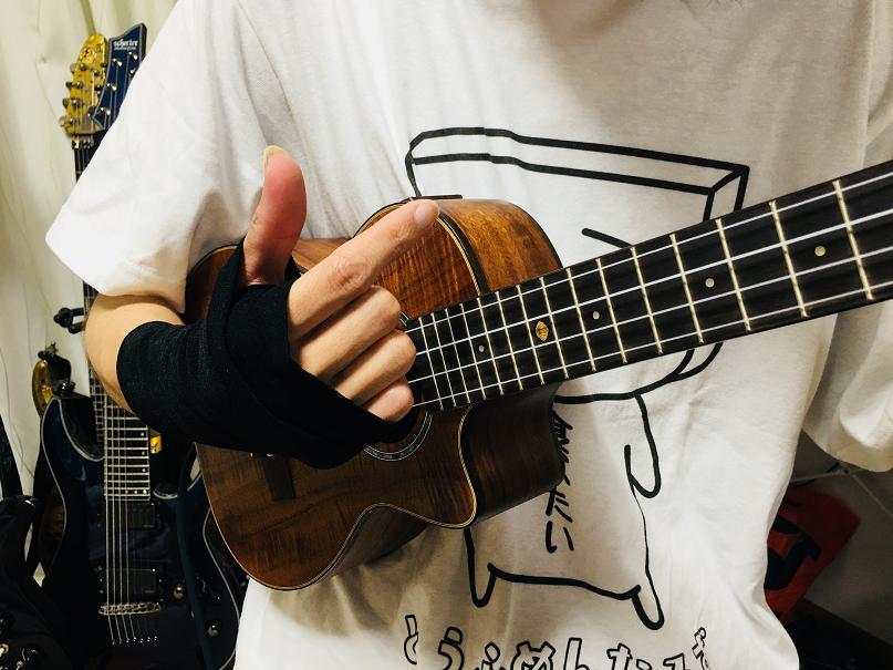 ウクレレ コード 右手 バトキン 奏法