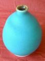 翡翠釉細頸壺