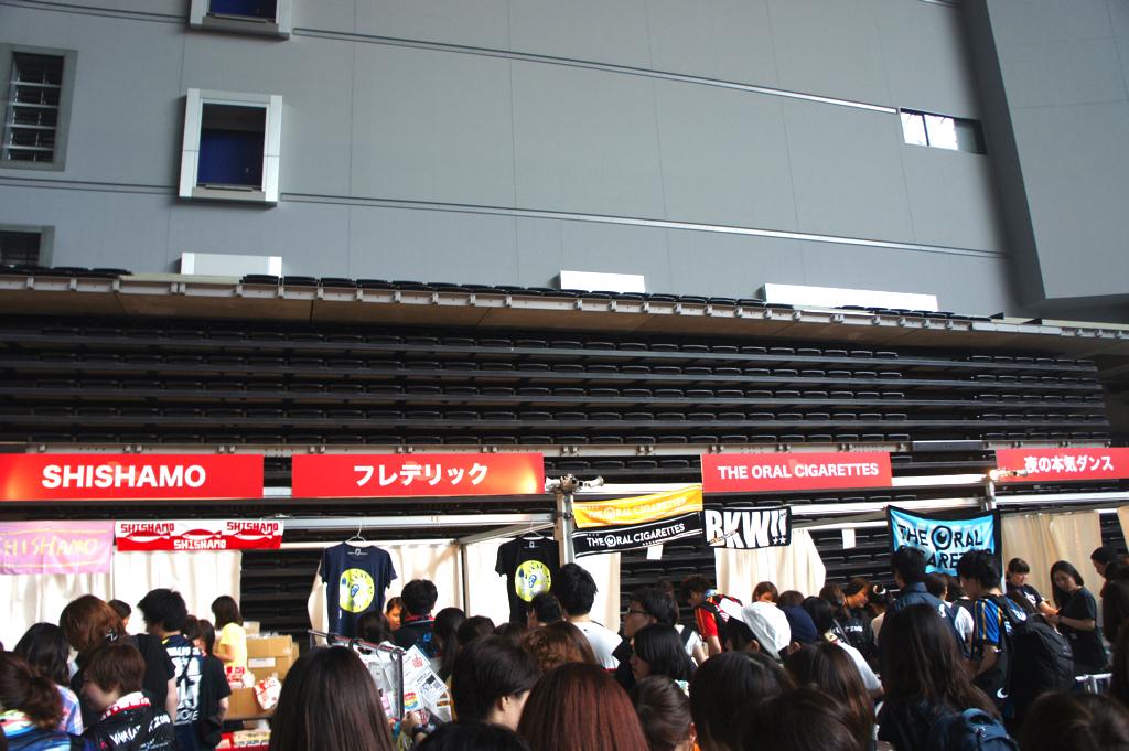 ビバステージ横グッズ売り場の写真