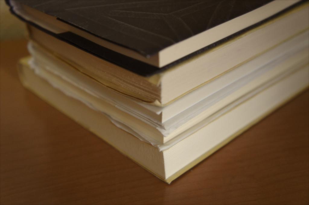 5冊の文庫本の写真