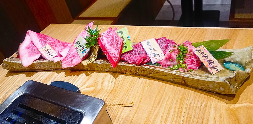 一つ一つのお肉が大きい「おおざら盛り」