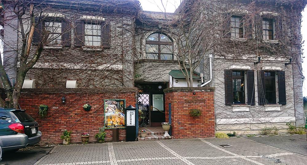 昔風の洋館っぽい建物