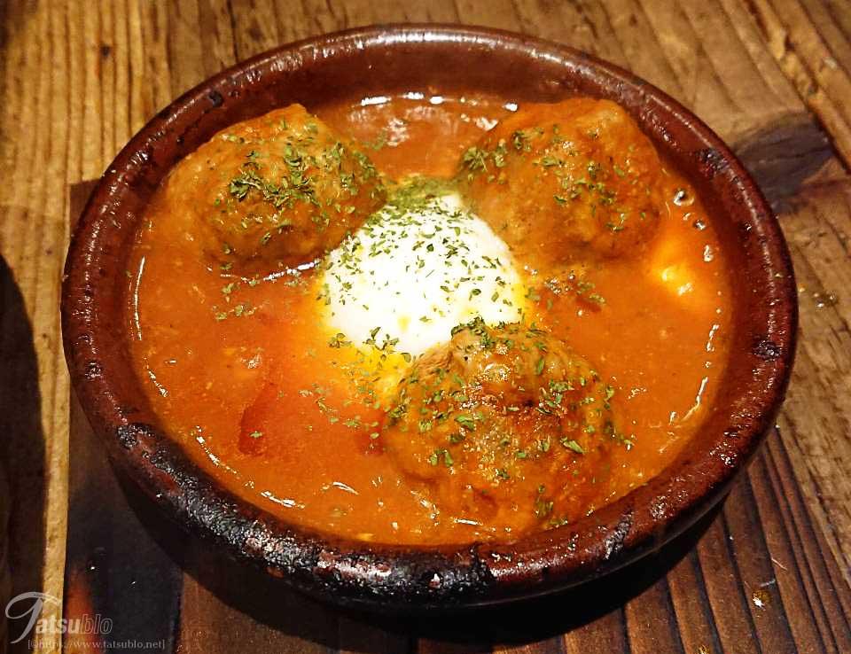 アルボンディガ(スペイン風肉団子)