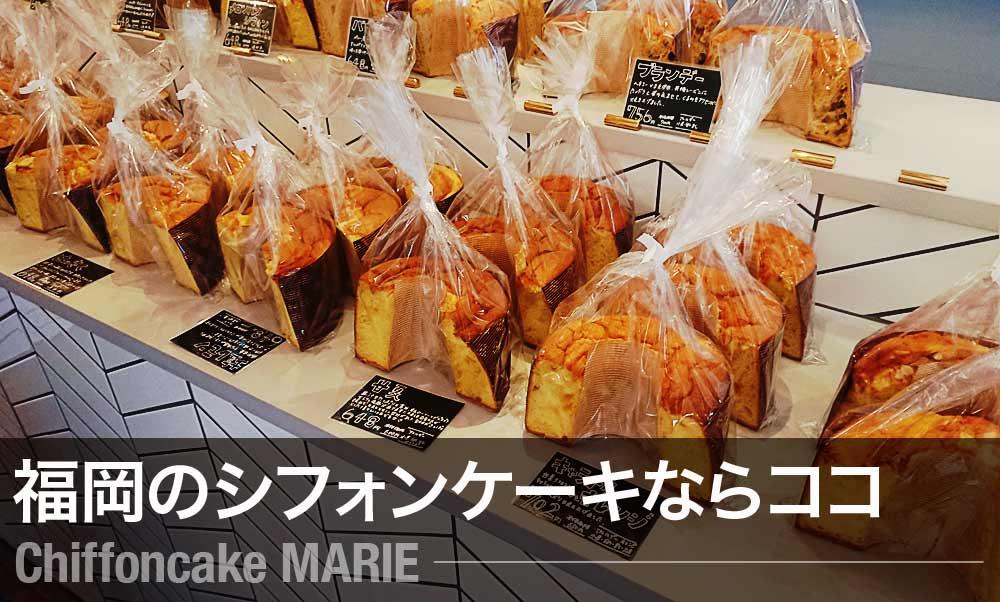 大楠マリィ絶品のシフォンケーキ