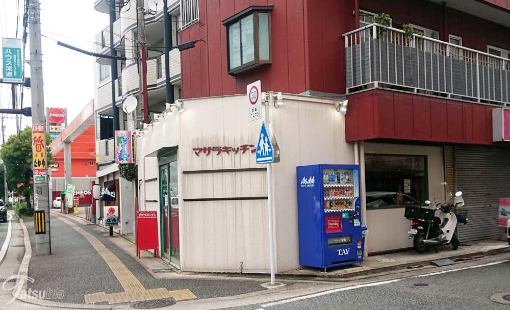 お店は車通りが多い「高宮通り」に面しています