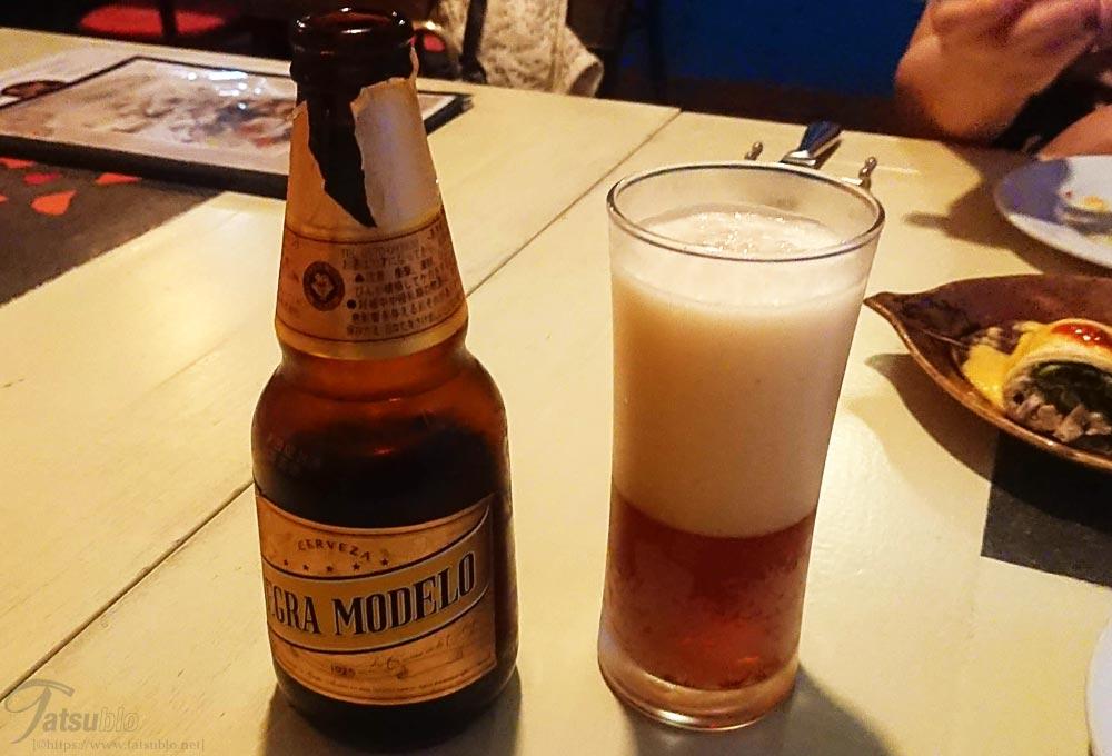 「ネグラ モデロ」というメキシコの黒ビール