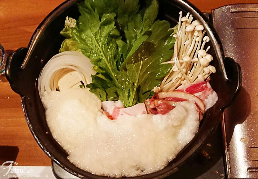 メインの喜人鍋