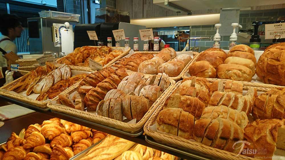 食べ放題なのにこのパンの種類