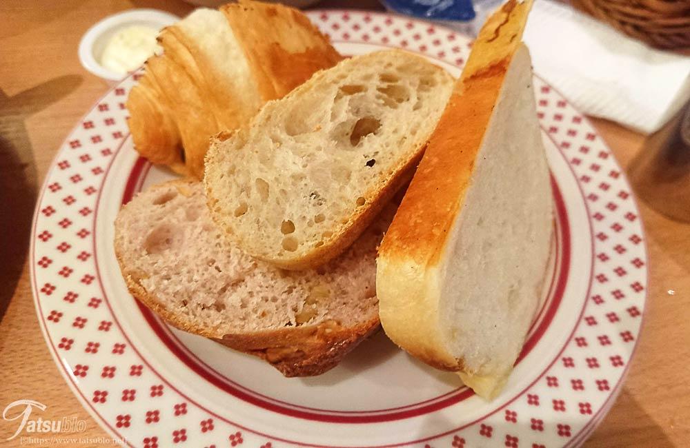 これは取ってきたパン