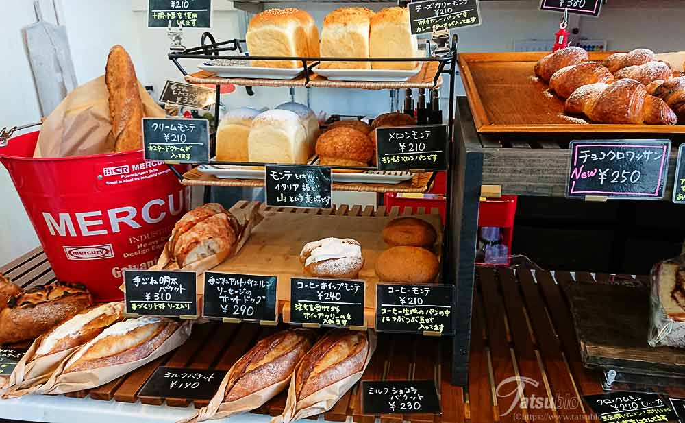 食パン以外もついつい買ってしまいそう