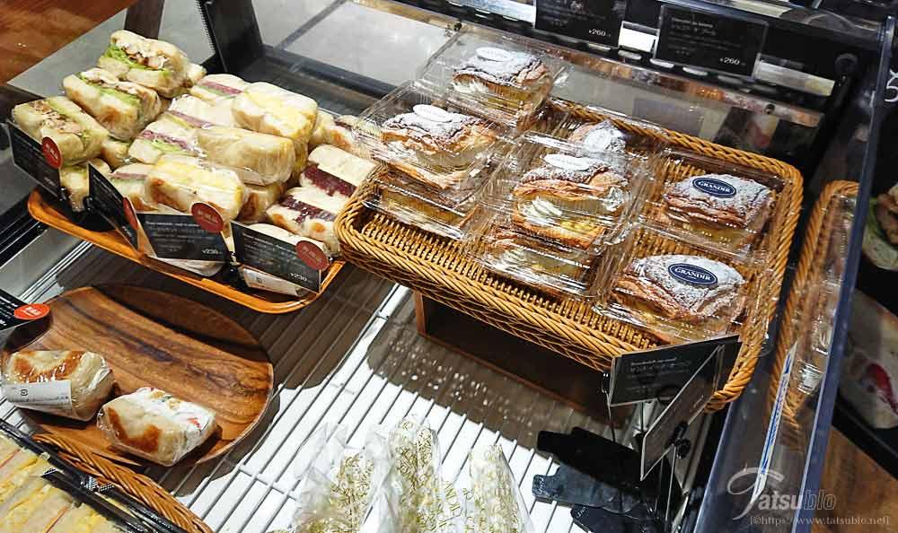 惣菜系のパンも充実しています