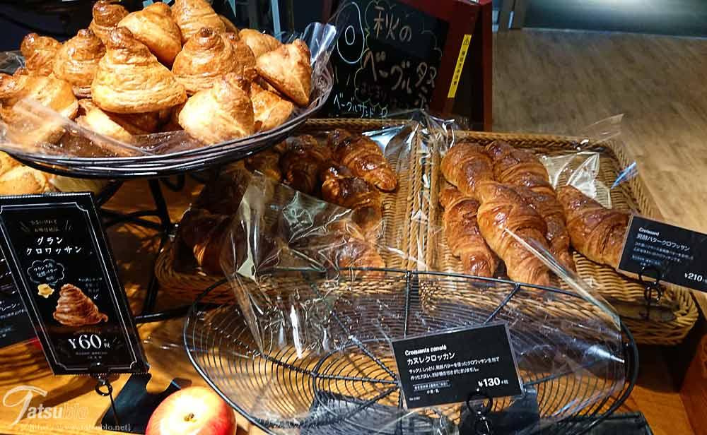 パンの種類も豊富でソフト系
