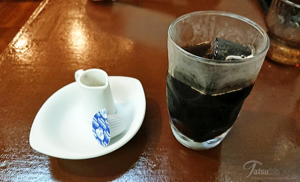 最後は食後のアイスコーヒーをいただいて、ごちそうさま!