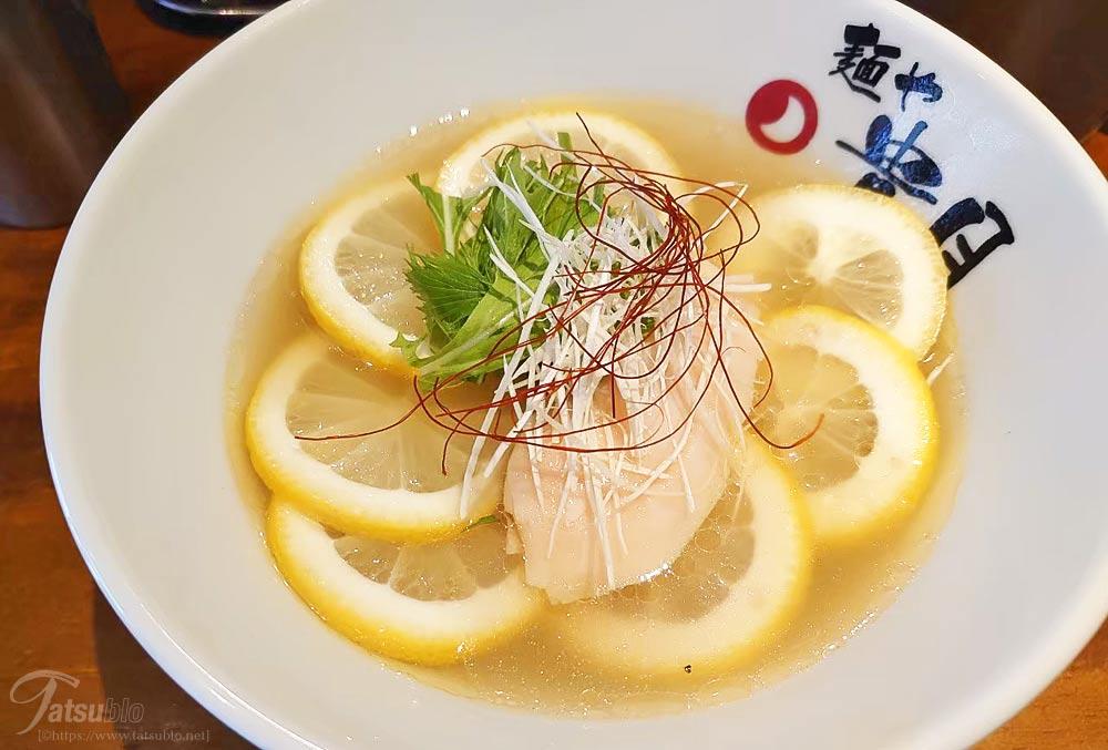 鶏塩レモンラーメン