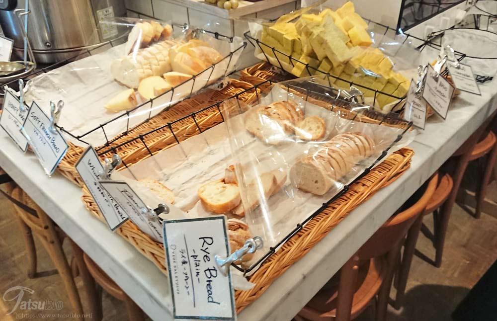 パンはこちら8種類
