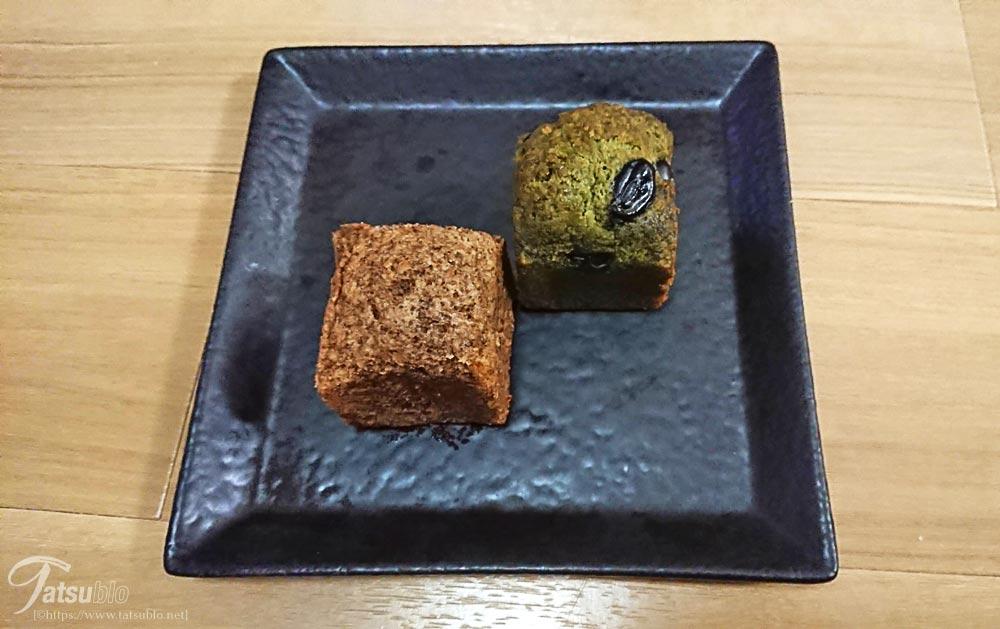 実際、ちょっと小ぶりでよく食べるパウンドケーキよりも小さい感じです。