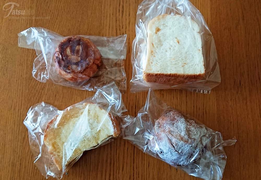 今回買ったパンと食べた感想はこちら。