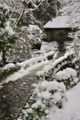 京都新聞写真コンテスト 雪化粧でおもてなし