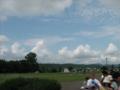 球場からの風景。