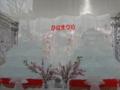 氷のひな人形。すすきのから大通にお引越し。(2丁目)
