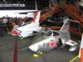タマゴ型F-16とF-104Jジュニア
