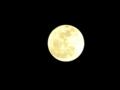 最初の満月(2013年1月)