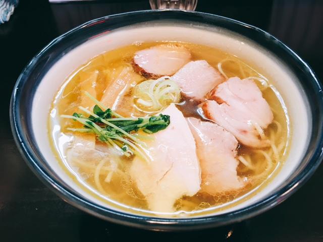 名古屋ラーメンランキング7位奏の塩チャーシュー麺