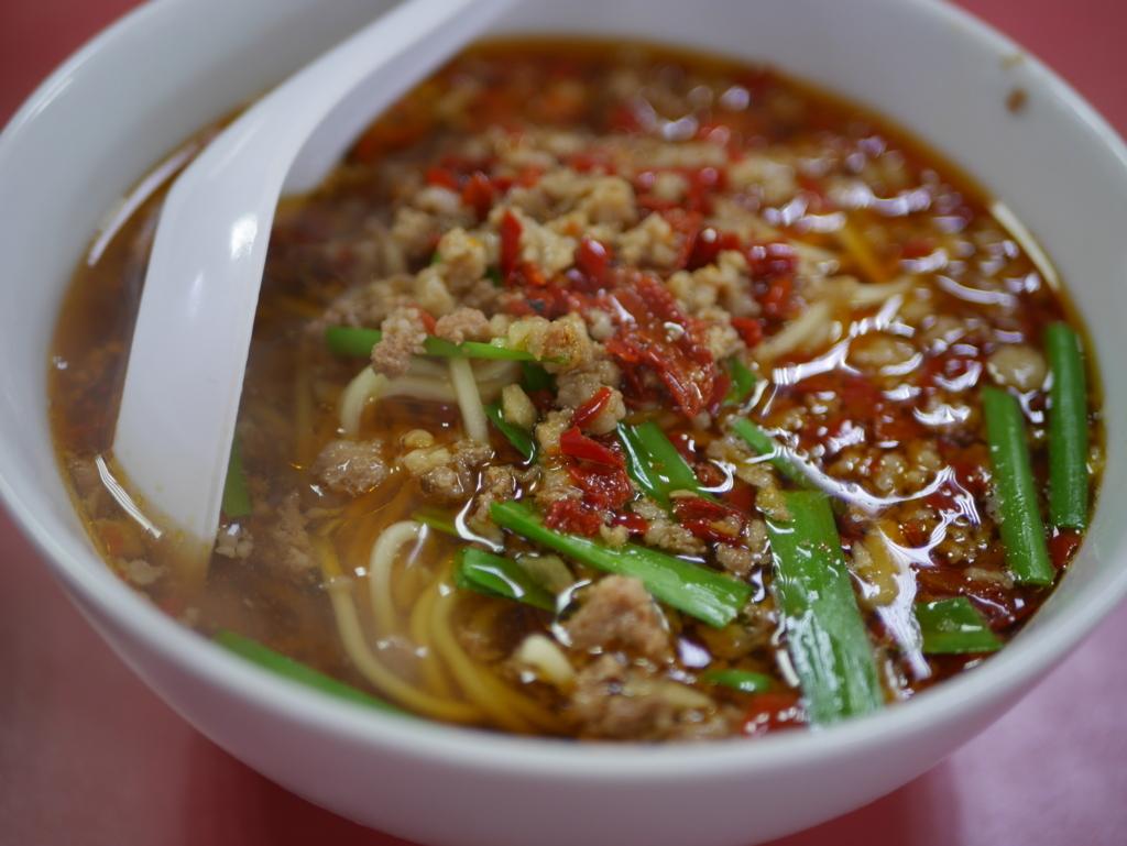 名古屋ラーメンランキング12位味仙の台湾ラーメン