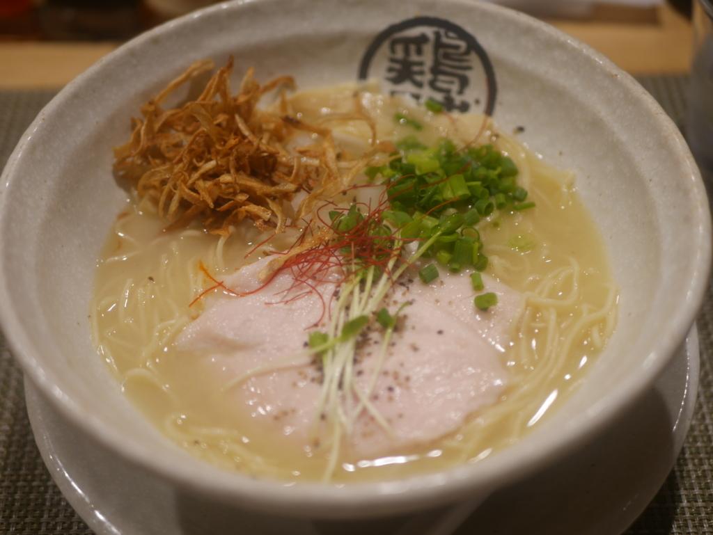 名古屋ラーメンランキング14位泉鶏白湯 鶏神の鶏白湯ラーメン