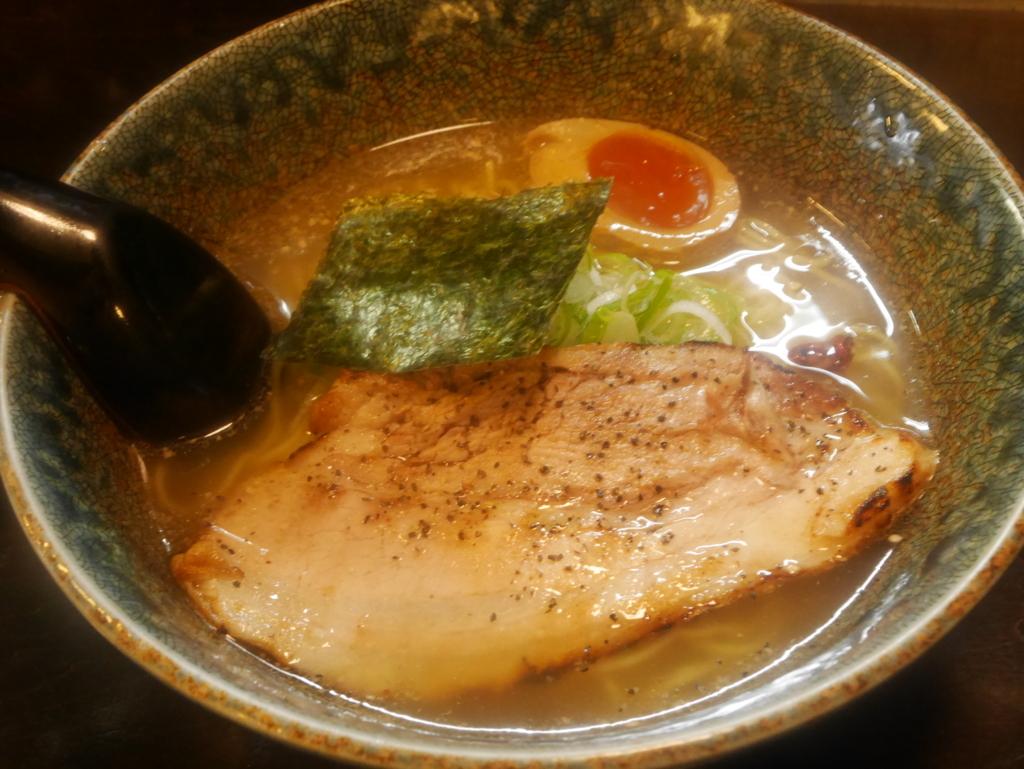 名古屋ラーメンランキング19位こくやの幻の塩漬けチャーシューラーメン塩