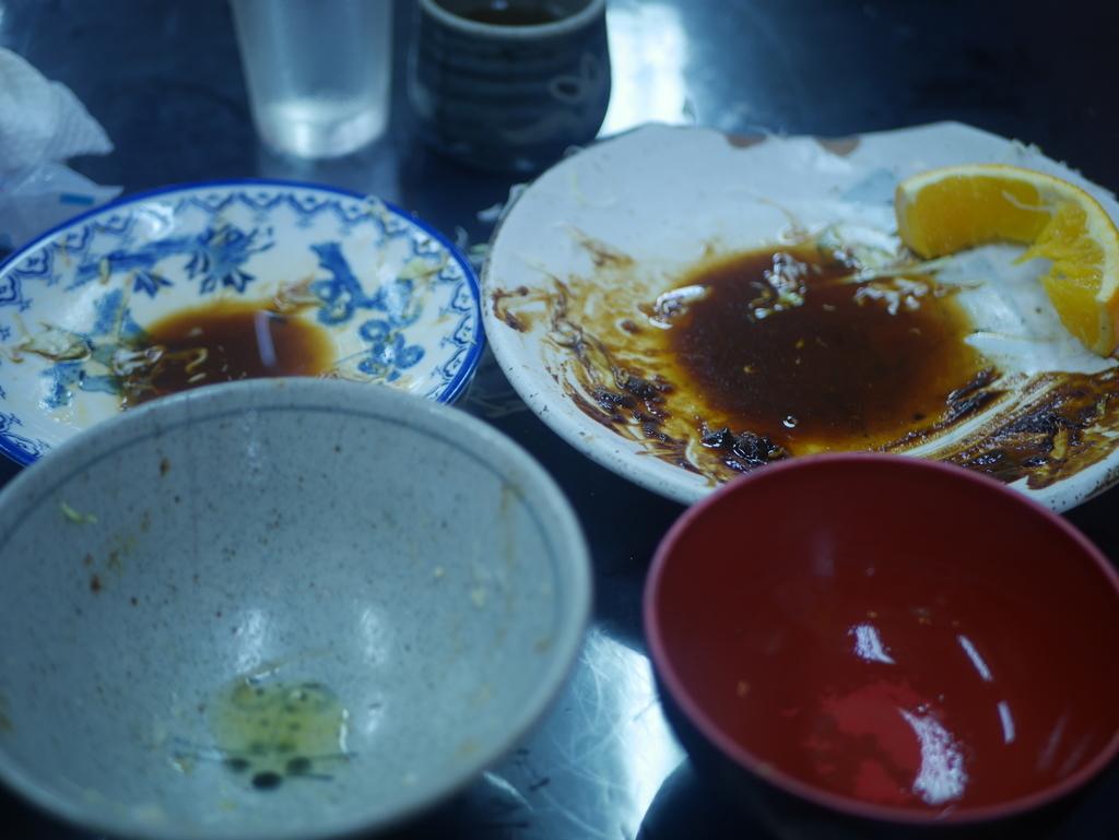 葉栗屋 名古屋 味噌カツ キャベツ