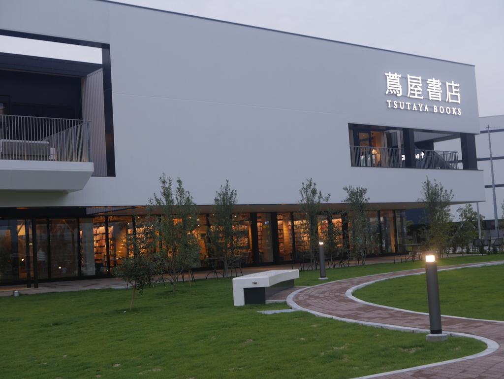 ららぽーと名古屋にある蔦屋書店の外観