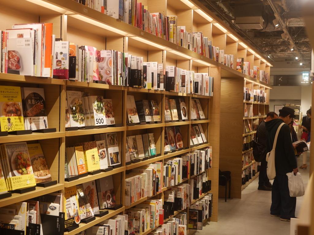 ららぽーと名古屋にある蔦屋書店の内観
