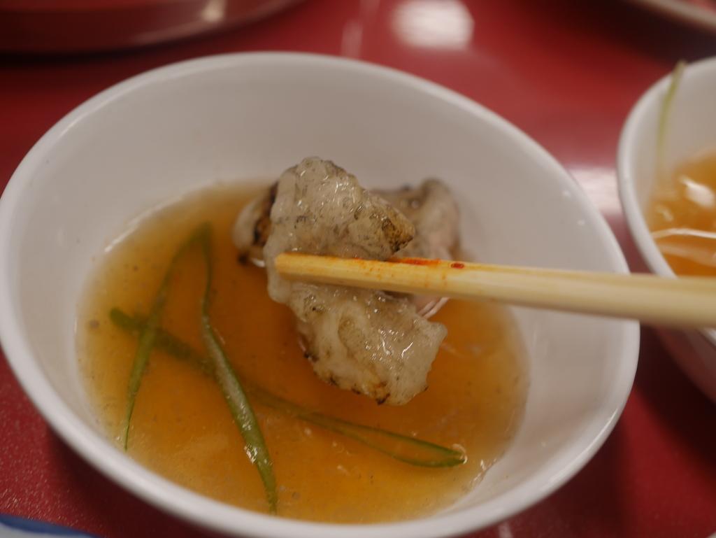 名古屋駅近くにある焼肉アジェの塩ホルモン