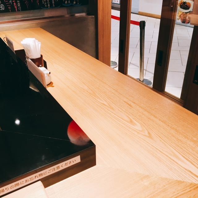 大名古屋ビルディングにあるお寿司屋さん男前酢の内観