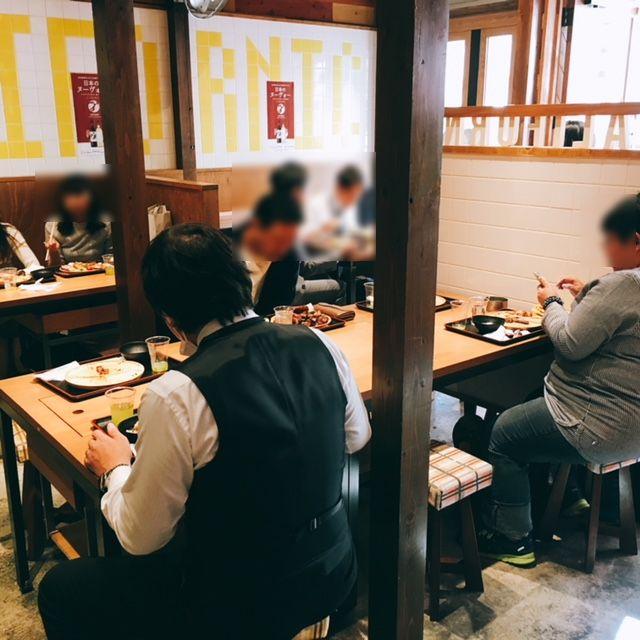 名古屋駅から徒歩8分!ワンプレート肉盛り放題ランチがお得なカリフォル肉酒場の内観