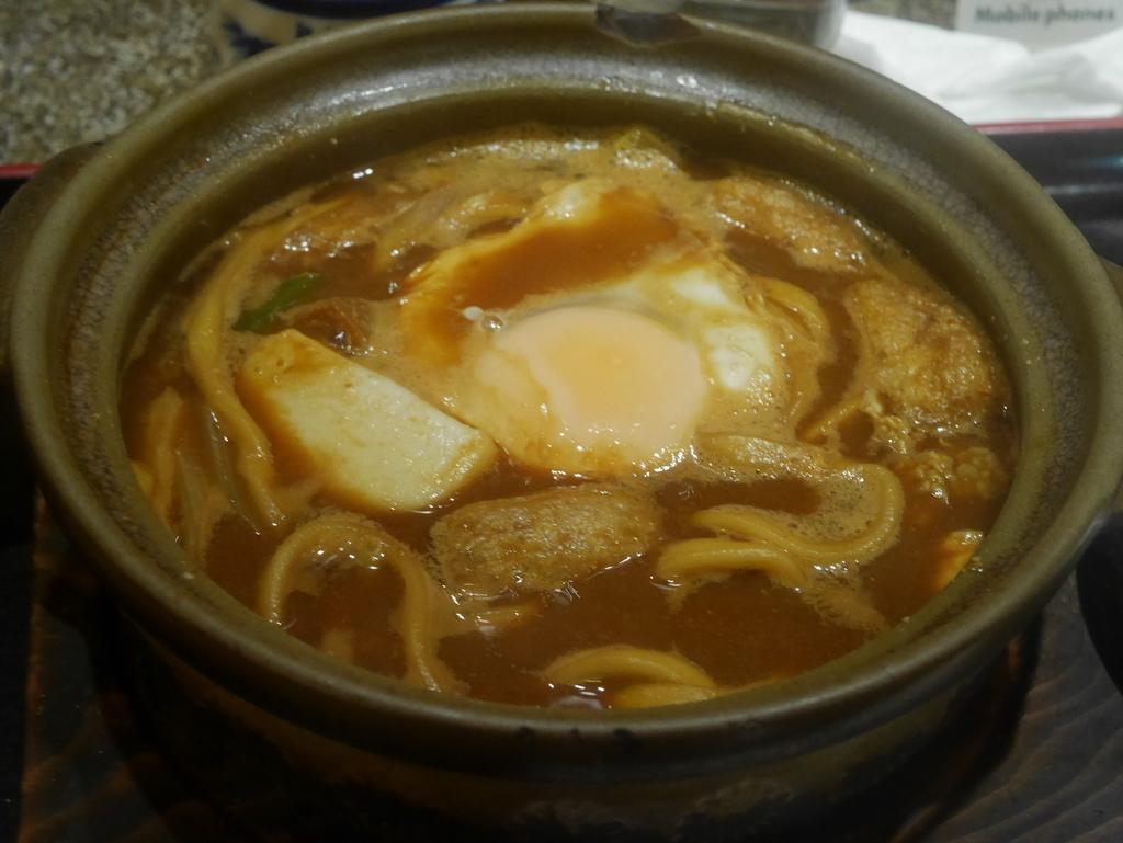 名古屋駅地下にあるやぶ福の味噌煮込みうどん
