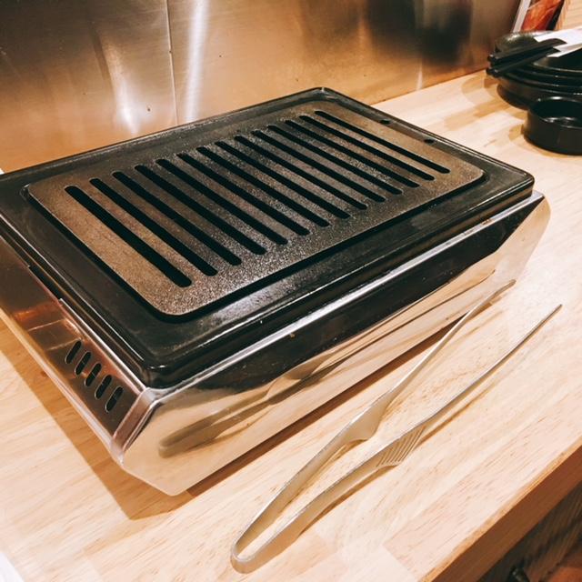 名古屋市栄にある焼肉とラーメンのお店スミヨシベースの鉄板