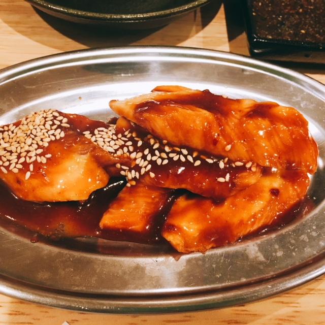 名古屋市栄にある焼肉とラーメンのお店スミヨシベースのトントロ